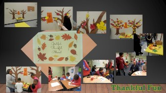 Collage of Thanksgiving Dinner Images 1